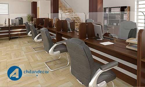 طراحی دکوراسسون داخلی بانک اچیلان دکور