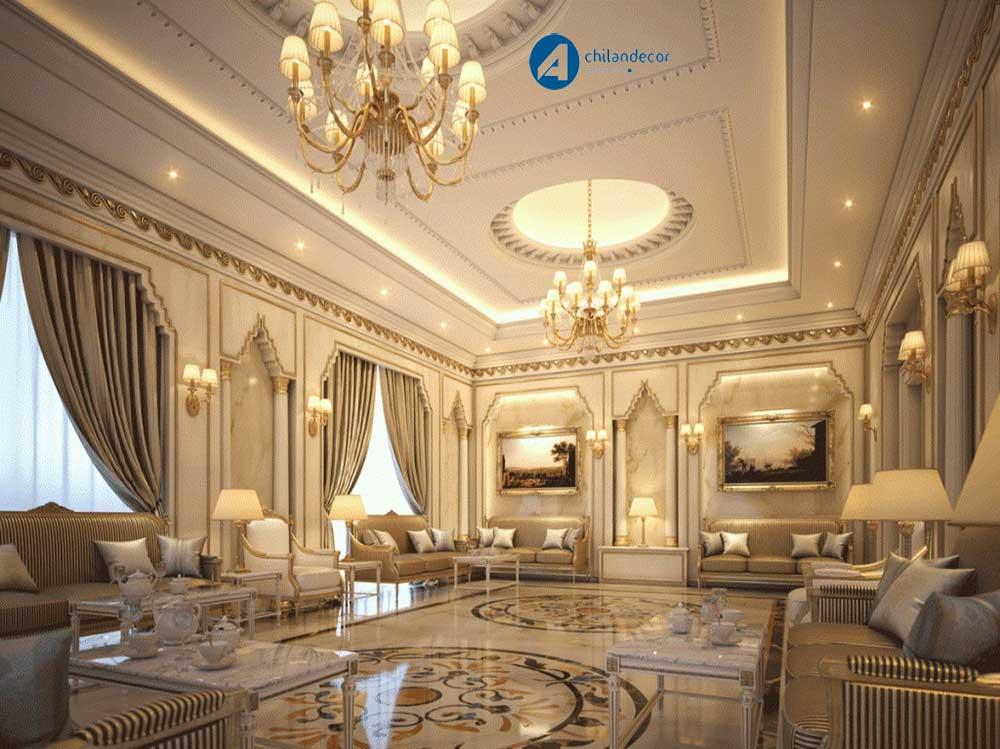 طراحی داخلی کلاسیک آچیلان دکور