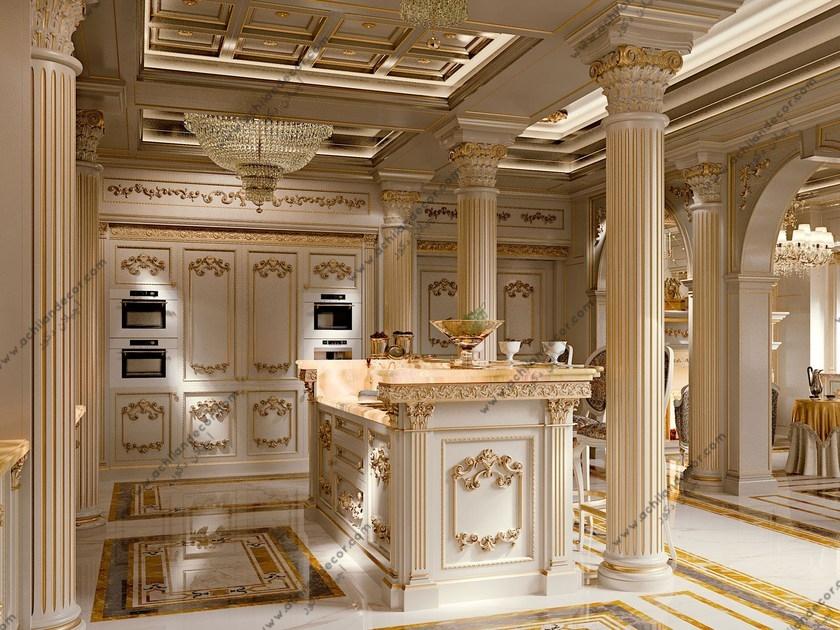 بازسازی آشپزخانه کلاسیک