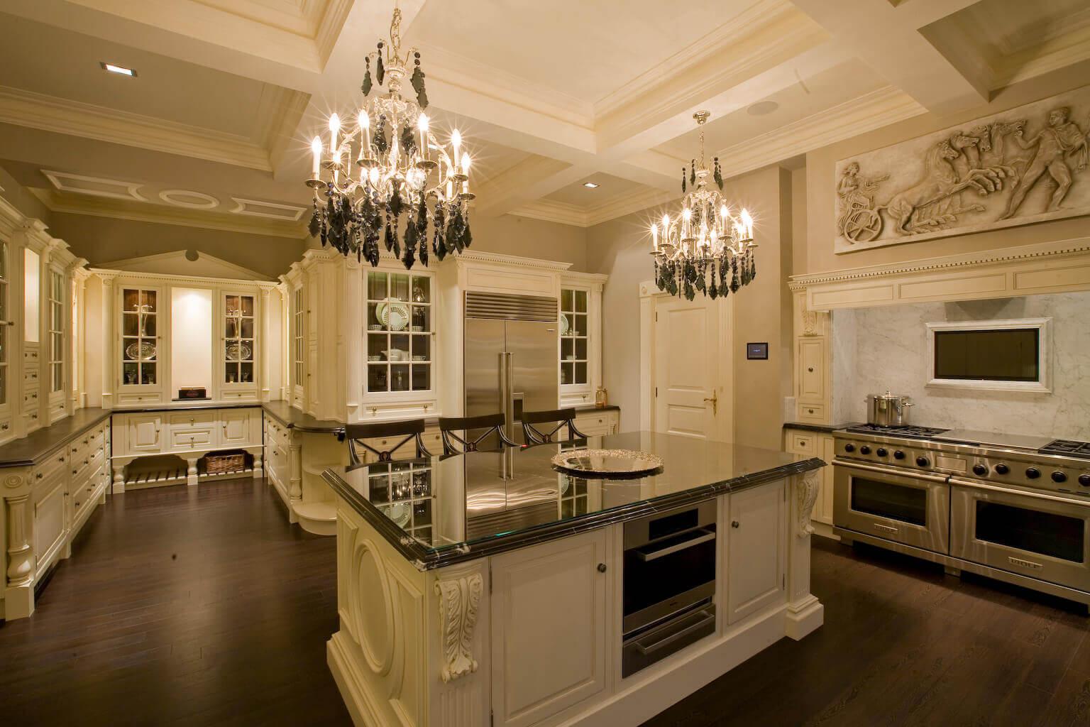 بازسازی آشپزخانه زیبا