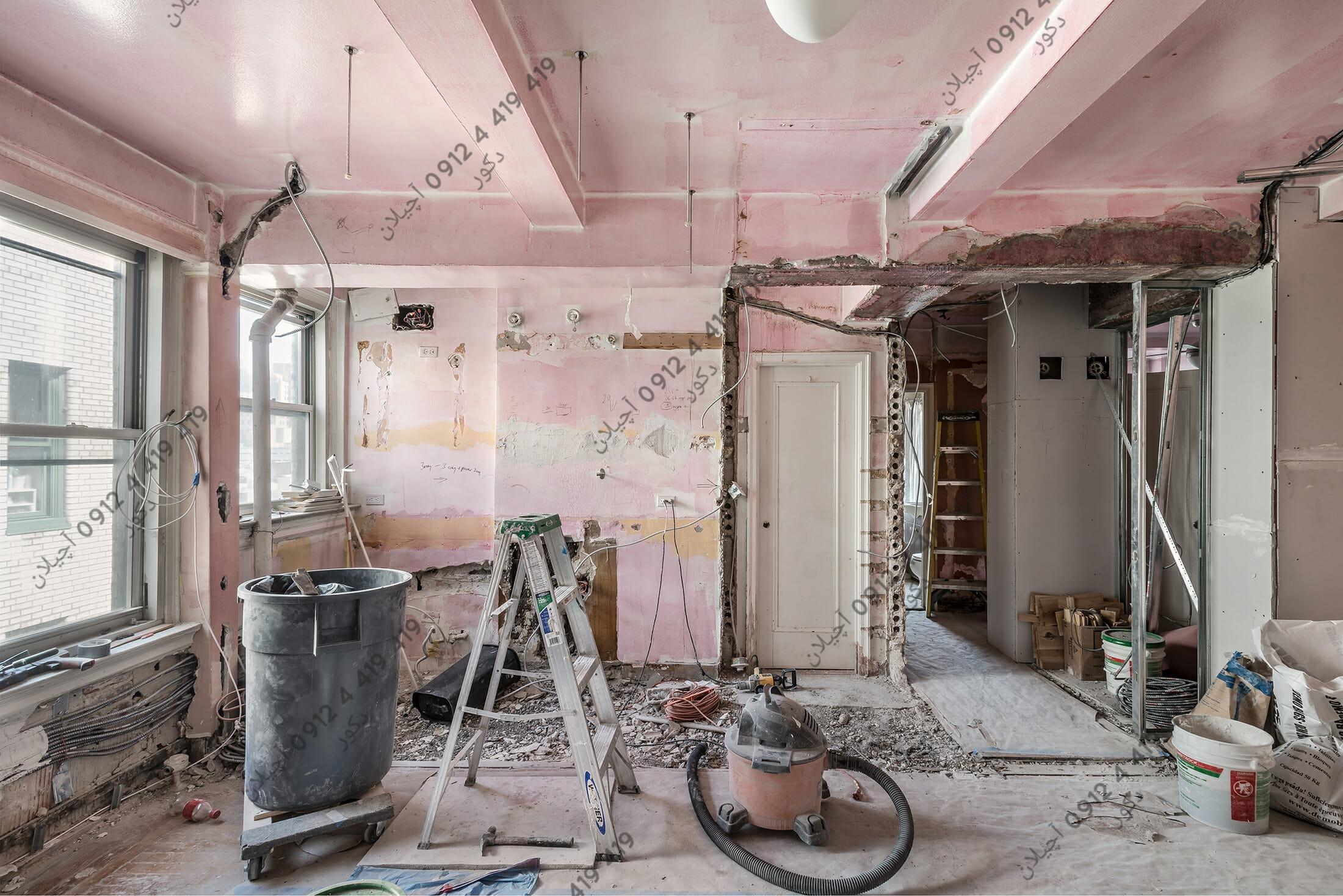بازسازی سقف خانه